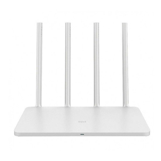 Router Mi 3C reacondicionado Blanco