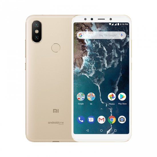 Mi A2 reacondicionado 4GB+32GB Dorado