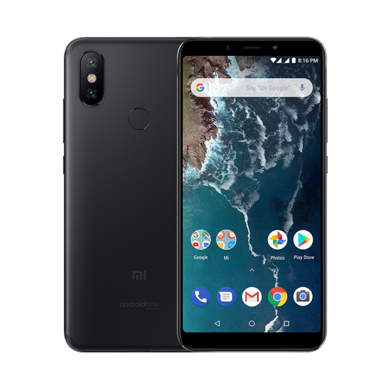 Mi A2 reacondicionado 4GB+64GB Negro
