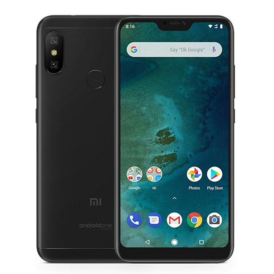 Mi A2 Lite reacondicionado 4GB+64GB Negro