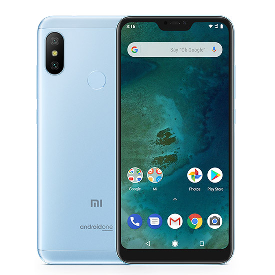 Mi A2 Lite reacondicionado 4GB+64GB Azul