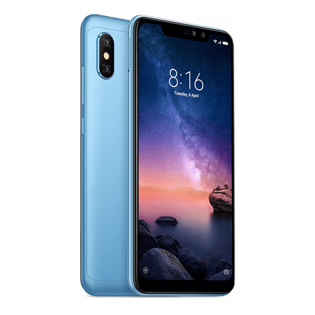 Redmi Note 6 Pro reacondicionado 3GB+32GB Azul