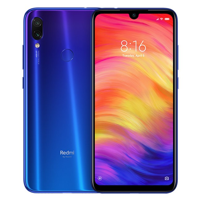 Redmi Note 7 4GB+128GB Azul