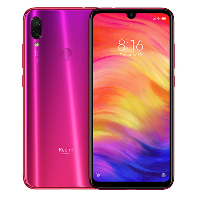 Redmi Note 7 4GB+128GB Rojo