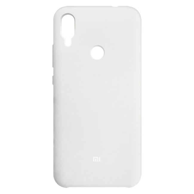 Funda silicona Redmi Note 7 Blanco