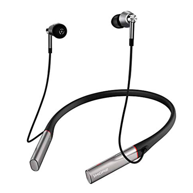 1More Auriculares Triple Driver Bluetooth Gris