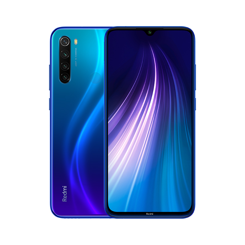 Redmi Note 8T reacondicionado 4GB+64GB Azul