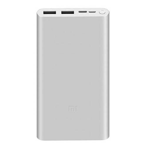 Mi Power Bank 3 10000mAh Fast Charge Plateado