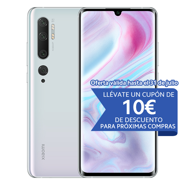 Mi Note 10 8GB+256GB Blanco