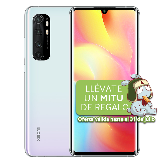 Mi Note 10 Lite 6GB+64GB Blanco