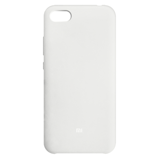 Funda silicona Redmi 6A reacondicionado Blanco